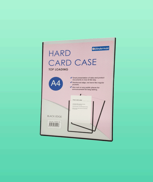 Hard-card-case-folder